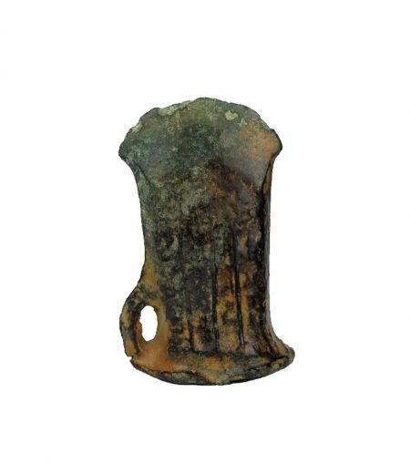 A bronze age socketed axe, 800-1000 B.C.