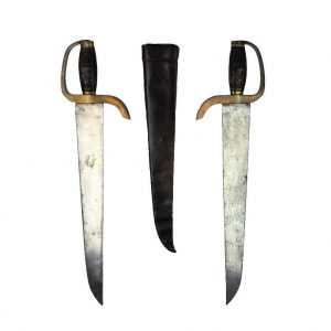 An Excellent Chinese Hudiedao sword set