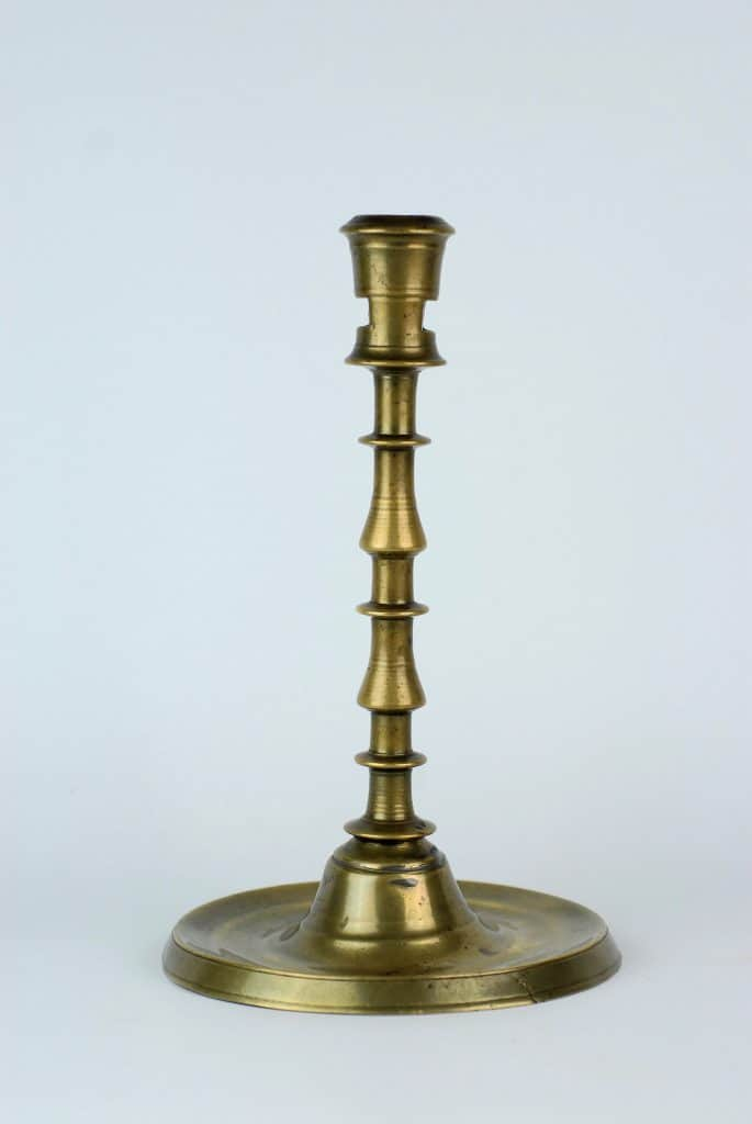 A 16th century Candlestick