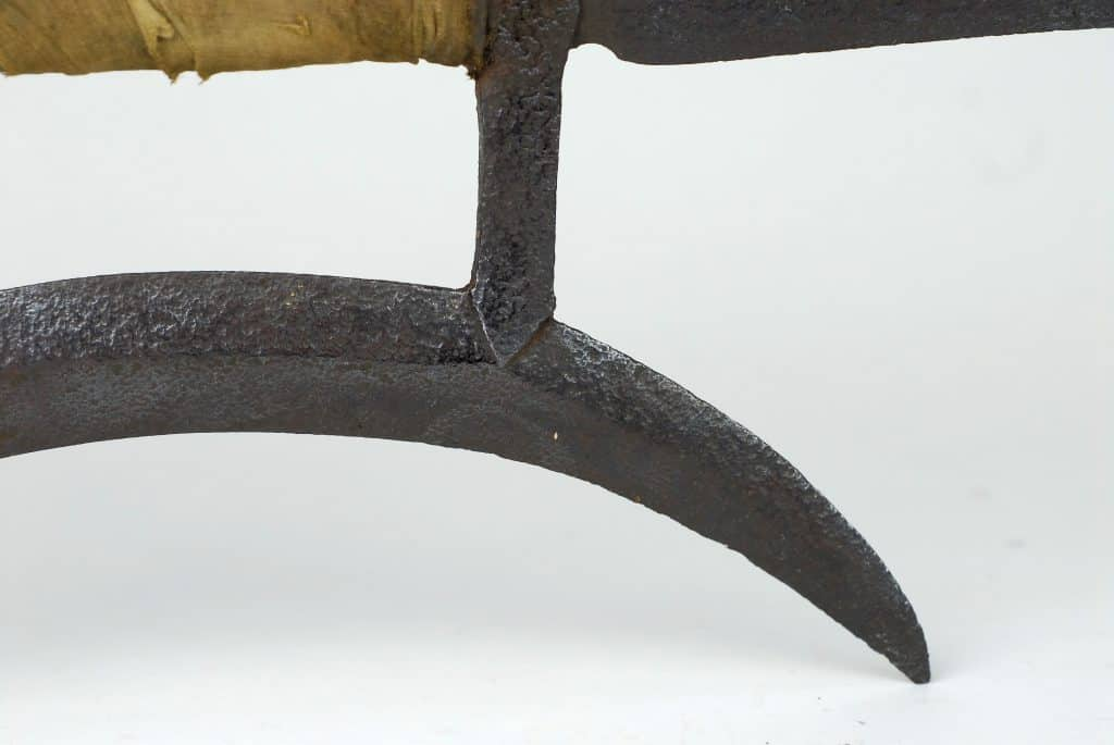 A 19th century Chinese Hooksword or Shuangguo