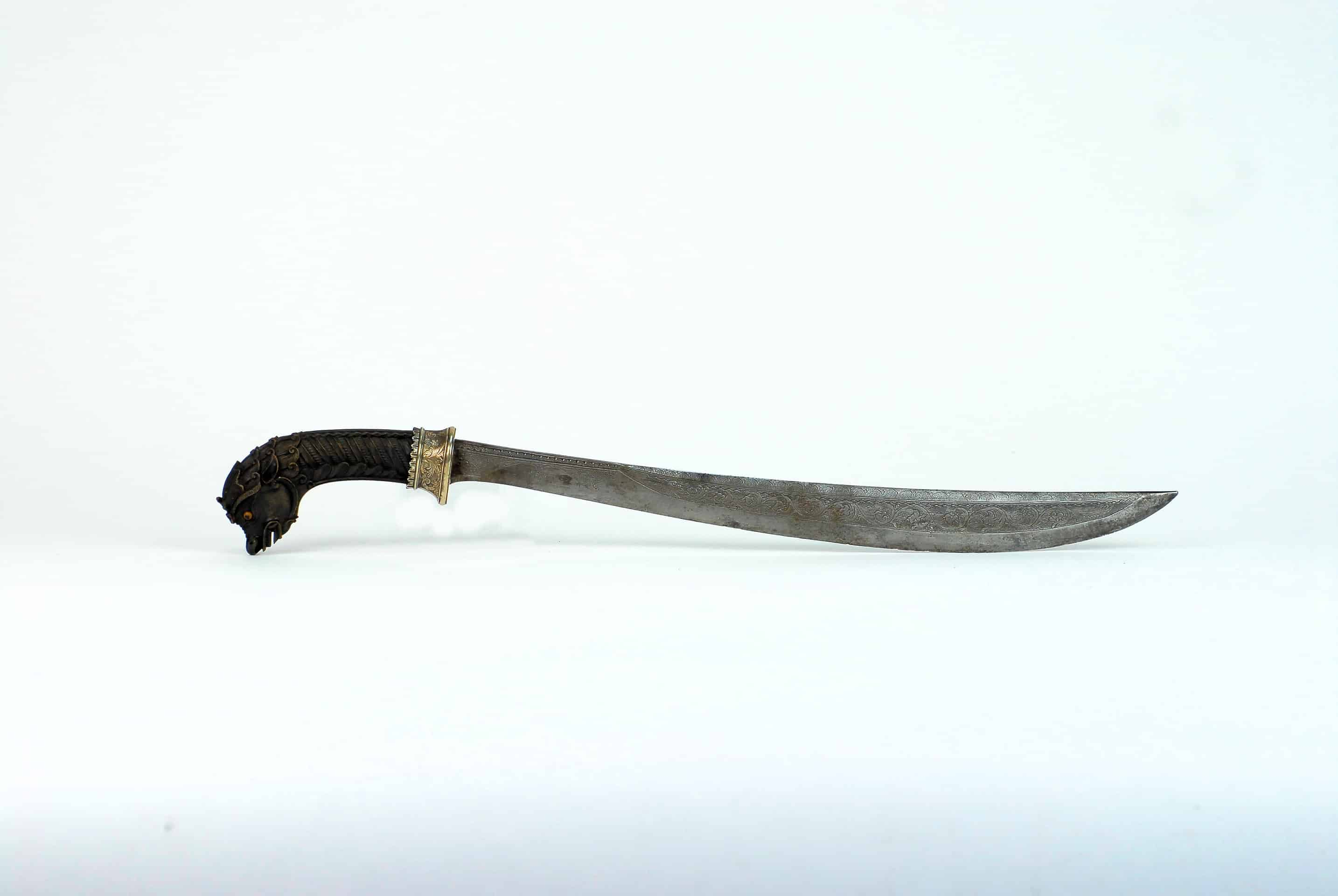 A Fine Javanese Preanger Sword, Dated 1825