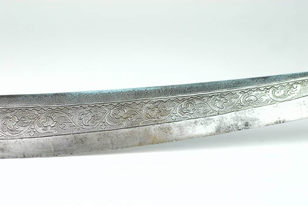 A Fine Javanese Preanger Sword, Dated 1825