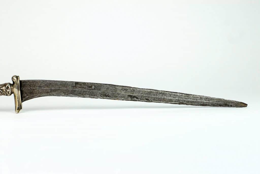 A Silver Pedang Suduk Maru, Java