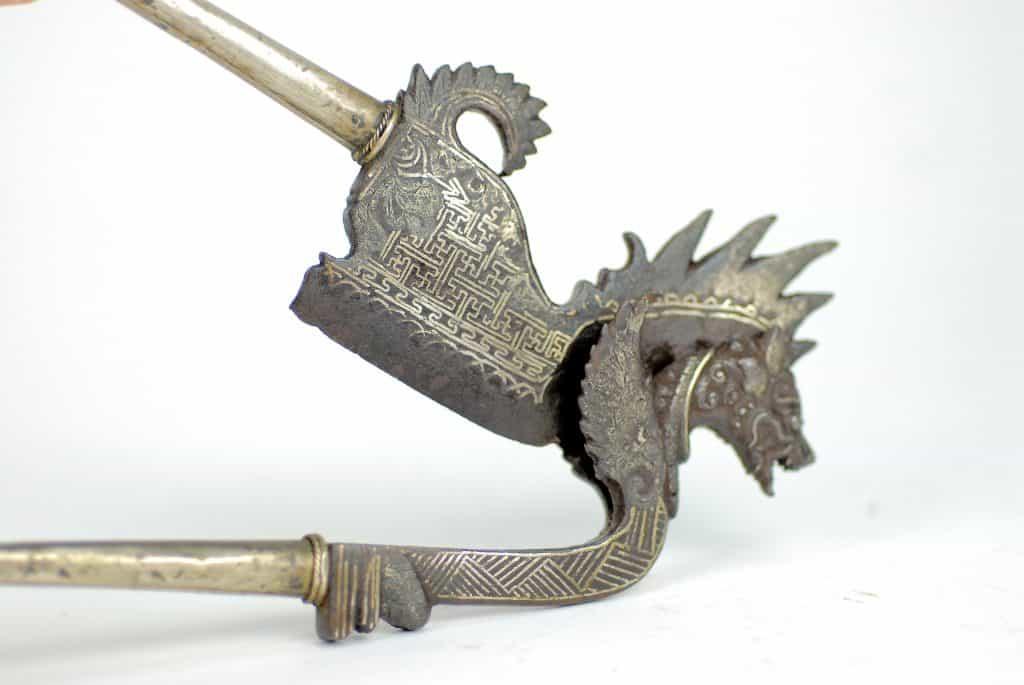 An Antique Balinese Betelnut Pinang cutter,