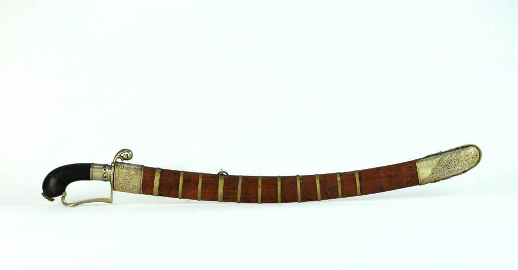 An Excellent Belabang Parang Nabur from Borneo, 19th century
