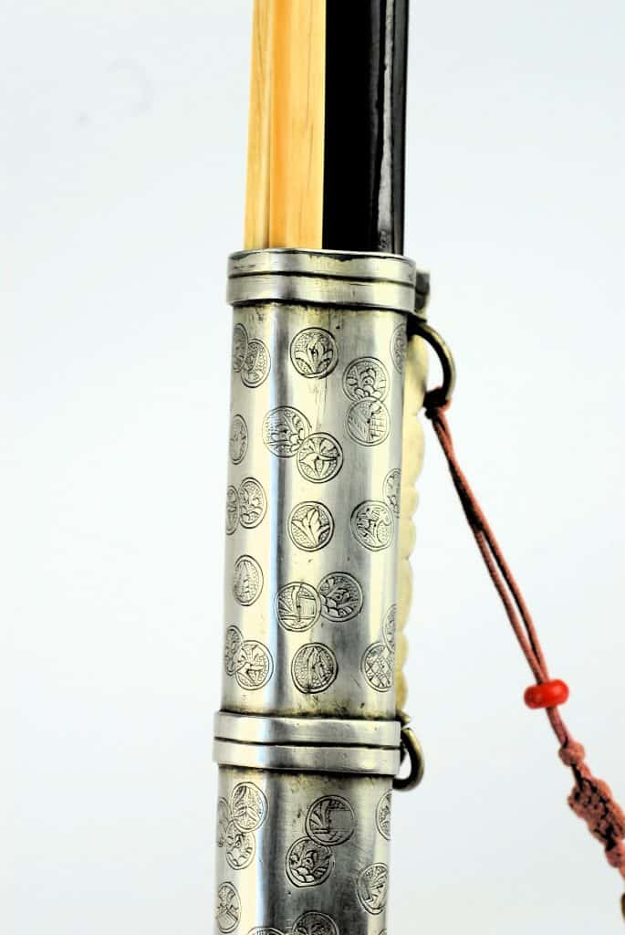 A Fine Antique Chinese Twistcore Trousse