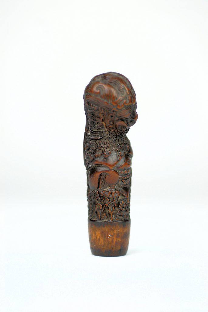 A fine North-East Javanese keris handle depicting Rakshasa