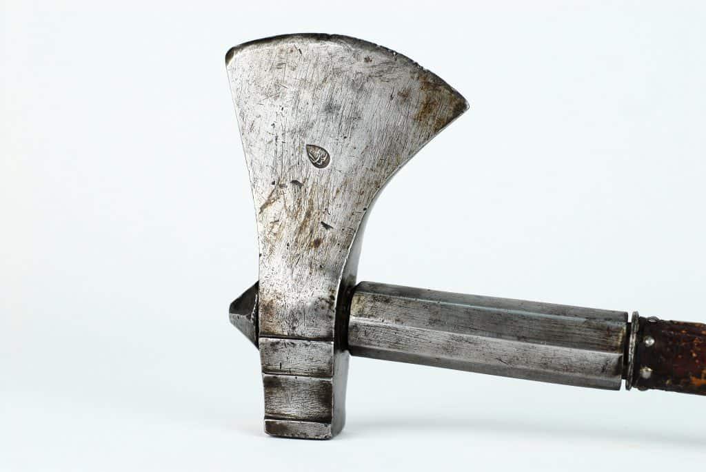 A Persian Tabar Zin battle axe