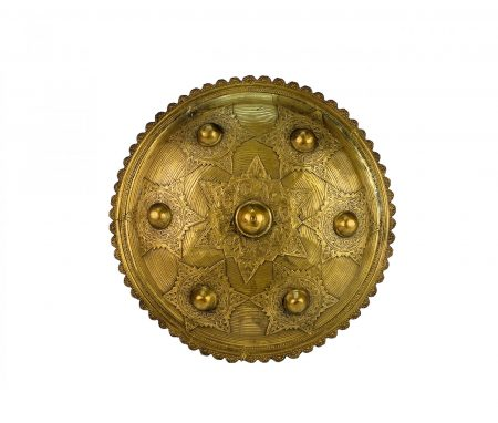 A large bronze Aceh shield (Peurise Teumaga)