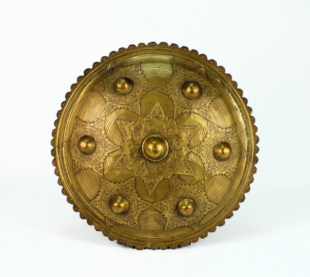 A large bronze Aceh shield (Peurise Teumaga)