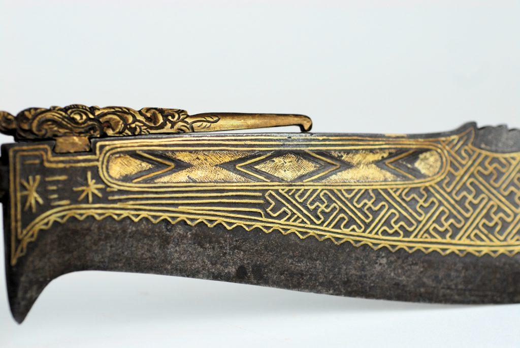 A fine Balinese ceremonial knife Tiuk Pengentas) Wedung