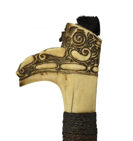 A 19th century Jimpul from the Iban, Dayak. North-West Borneo.