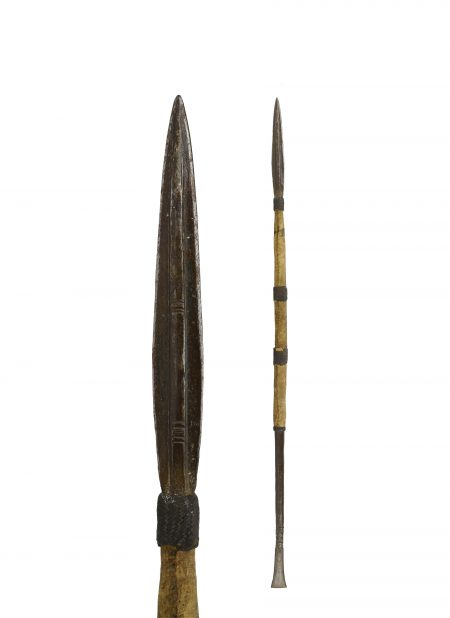 A Mende hunting spear, 19th century